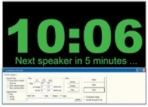 PC Based Presenter Timer System Software